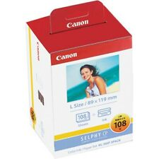 Official Canon color ink/paper set L size SELPHY KL-36IP 3PACK (for CP series)