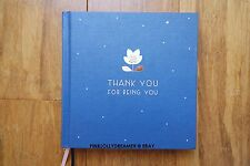 "Kikki K Mother's Day ""Thank you for being you"" keepsake book BRAND NEW"