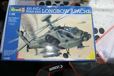 Revell AH-64D Longbow Apache Military helicopter model 1/48th scale