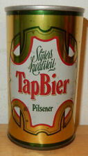 TAP BIER Straight Steel Beer can from HOLLAND (34cl)