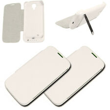 2PCS 3500MAH BACKUP BATTERY CHARGER POWER CASE COVER WHITE SAMSUNG GALAXY S4 IV