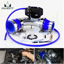 For Hyundai Genesis Coupe 2.0T Turbo Intercooler Pipe + Blow Off Valve BOV Blue