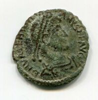 Cleaned Roman coin from Late Roman Empire between 300-400 AD Historical Number 4