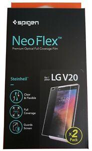 [2PCS] LG V20 Spigen® Neo Flex Screen Protector Protection Film Cover