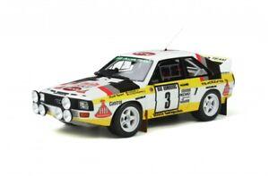Ottomobile 1/18 Audi Sport Quattro Rally Monte Carlo 1985  W.Rohrl