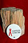 """Clinton & Gore 96 Clinton 2 1/4"""" Political Button with Union Logo!"""