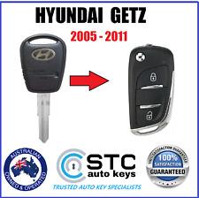 HYUNDAI GETZ REMOTE TRANSPONDER CHIP FLIP KEY FOB 2005 2006 2007 2008 2009 2011