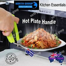 Hot plate dish bowl tray grip holder handle plier gripper clamp tongs pizza oven