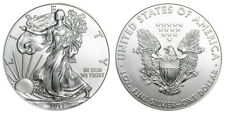 2012 W Silver Eagle One Ounce Silver Uncirculated Coin Burnished with Box & COA