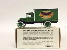 ERTL 1931 Hawkeye Motor Truck Coin Bank Remington Die-Cast Metal NEW NIB E654