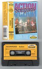 Scorpions--ACTION--- Musikkassette Cassette