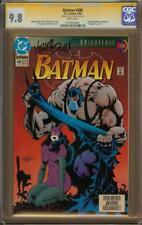 Batman #498 CGC 9.8 Signature Series KELLEY JONES