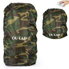 Waterproof OUTAD Rain Resistant Cover Durable Camping Backpack Rucksack Bag USA