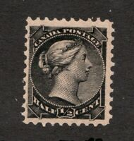 #34  -  Canada -  1882  -  ½ Cent  -  MNH  - F -  superfleas