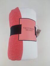 Victorias Secret Pink Blanket Throw Black Coral Ombre '18 Summer Beach Towel