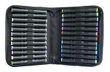 Graph It Marker Pen Set - 24 Colour Wallet - Manga