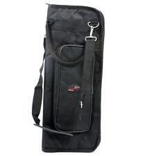 Portable Black Percussion Parts Drum Sticks Bag Soft Case With Shoulder Strap