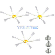 3PCS 6 Arm Spinning Side Brush Designed to Fit iRobot Roomba 530 550 560 770 780