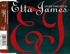 ETTA JAMES - I JUST WANT TO MAKE LOVE TO YOU (EURO PRESSING 3 TRK 1 MAXI-CD)