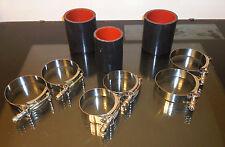 Grand National  SiliconeTurbo Intercooler Hose Kit for stock intercooler BLACK