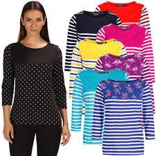 Regatta Womens Pandara Long Sleeve Casual Jersey T Shirt