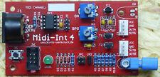 Midi-int4 Midi-Interrupter, 4-logique Polyphon pour SSTC, drsstc, Kit