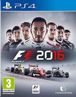 FORMULA 1 2016 F1 16 EN CASTELLANO ESPAÑOL NUEVO PRECINTADO PS4
