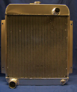 1954 1955 1956 Ford Customline aluminum radiator  MADE IN USA !!!!