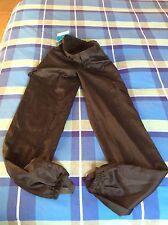 Pantalón reforzado color negro estilo militar talla 38