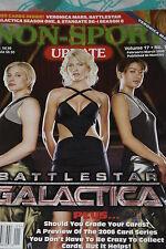NSU Non Sport Update Magazine Battlestar Galactica Cover vol 17 #1 2006