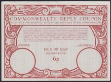 ISLE OF MAN, 1974. Commonwealth Reply Coupon 6p, Mint