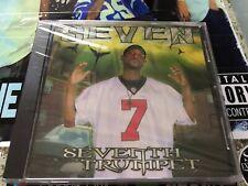 CD: SEVEN - Seventh Trumpet (2002 SF Rec.)Sealed OOP South Carolina Rap G-Funk