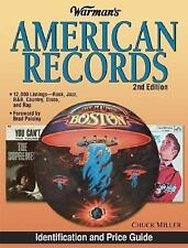 LIKE NEW   Warman's American Records by Chuck Miller (2004, Paperback, Revised)