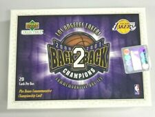 2000-01 Upper Deck LA Lakers Champion Collection 20 Card Set - SEALED BOX