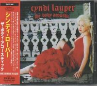 Cyndi Lauper The Body Acoustic JAPAN CD with OBI EICP568