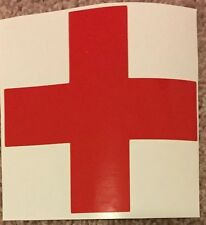 """Medical Red Cross First Aid Medic Decal 4"""" X 4"""""""