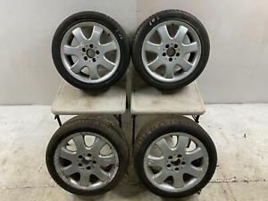 #40 Mercedes SLK R170 17 inch Alloy Wheels and Tyres Front 225/45/17 Rear 245/40