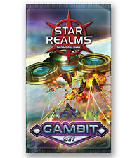 Gambit Star Realms 20 Card Booster Set White Wizard Games WWG 002 Game