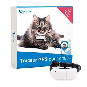 Tractive collier GPS chat avec suivi d'activité, traceur pour chat: OCCASION
