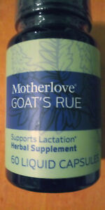 Motherlove Goats Rue 60 liquid Capsules