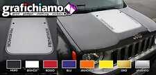 Adesivo Stickers Cofano Jeep nuova Renegade CANALIZZATO NO BOLLE ARIA