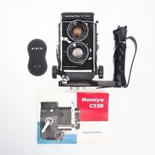 Mamiya C330 Professional W TLR 120MM 6x6 Film Camera w/ 80mm F2.8 Lens