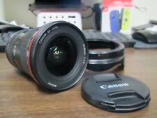Canon EF 16 - 35mm f/2.8 L USM Wide Angle Zoom Lens w Hood