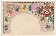 1904 Serbia stamps embossed Ottmar Zieher postcard mint unposted