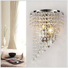 Kristall Mauer Leuchter Beleuchtung Gang Licht Mauer Lampe Wandleuchten 5807HC
