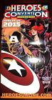 HEROES CONVENTION 2015 CHARLOTTE POSTER~Black Widow Captain America Dan Panosian