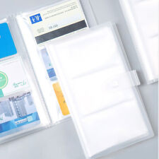 120 Slots Id Holders Pp Business Card Book Large Capacity Business Card Ltqa
