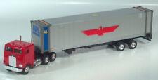 """Shinsei Freightliner COE Semi Container Truck 14"""" Scale Model APL 45' Trailer"""