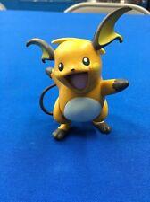 "Raichu Jakks Pokemon Nintendo 3"" Action Figure 2007 Cake Topper Nintendo Rare"