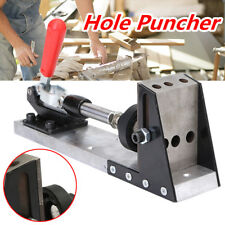 Pocket Hole Puncher Drill Jig Carpenter Joinery System Woodworking Plug Cut Tool
